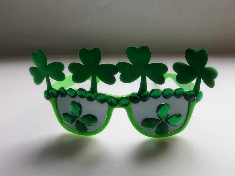 Irish Holiday Shamrock Eyeglasses