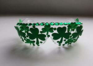 Patrick Day Shamrock Eye Glasses