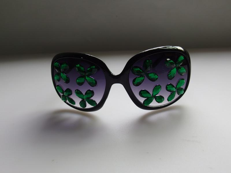 St. Pat Holiday Beaded Eyeglasses Shamrock Eyeglasses