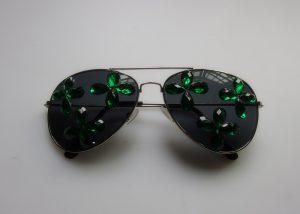 Saint Patrick Day Shamrock Eye Glasses Patrick Day Dress