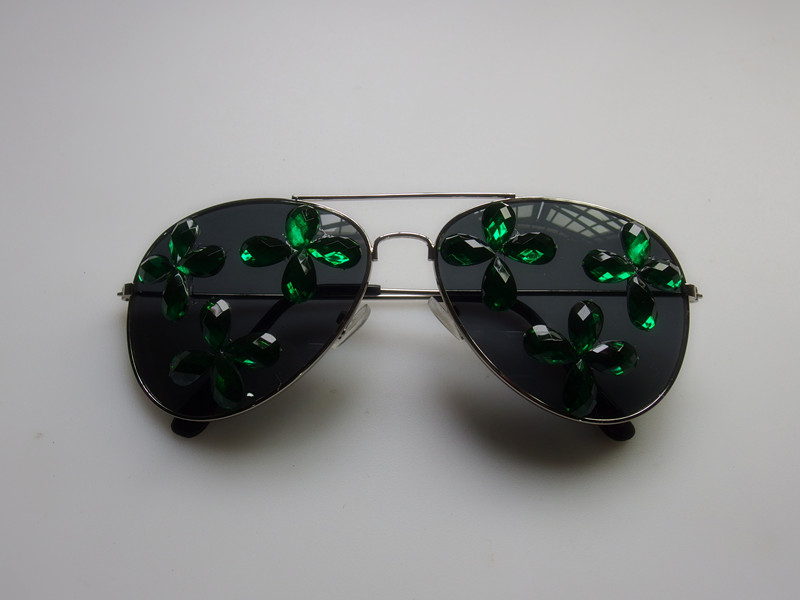 Saint Patrick Day Shamrock Eye Glasses Patrick Day Dress