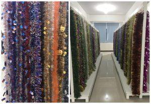 Metallic Garlands Showroom