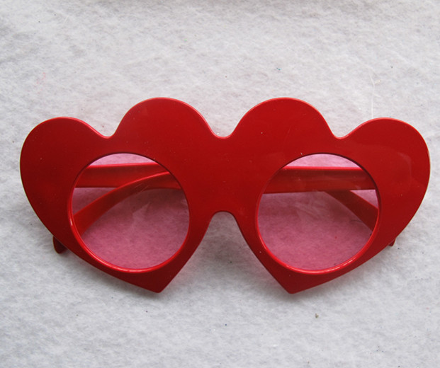 Valentine Day Party Gift Eye Glasses Heart-shaped Glasses