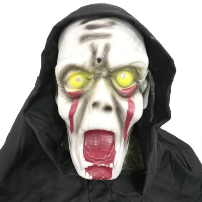 Big Eye Opened and Mouth Halloween Giant Skull