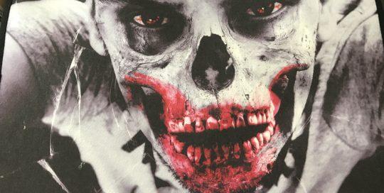 Lighting Halloween Bath Carpet Rug w LED Lighting Skull Blood Mouth