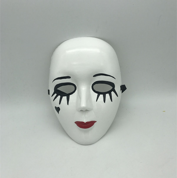Halloween Blank Face Mime Mask