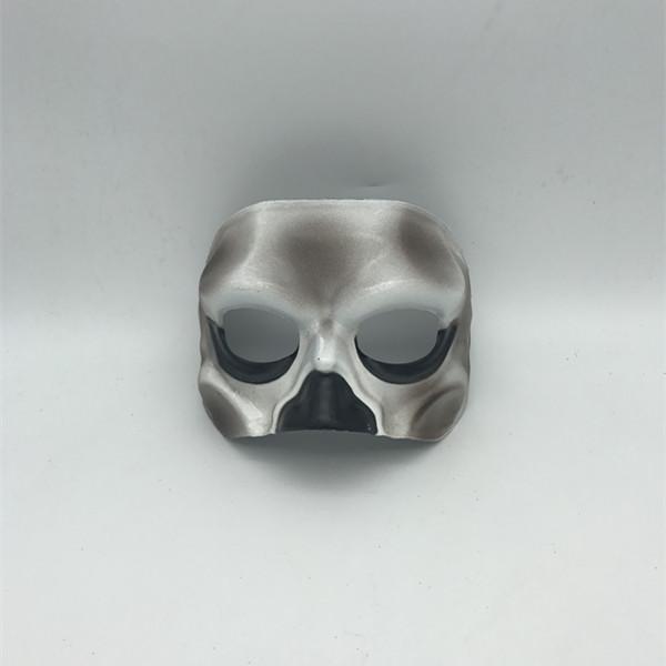 Halloween Eye Masks Burnt Mask Half Face Adult Mask