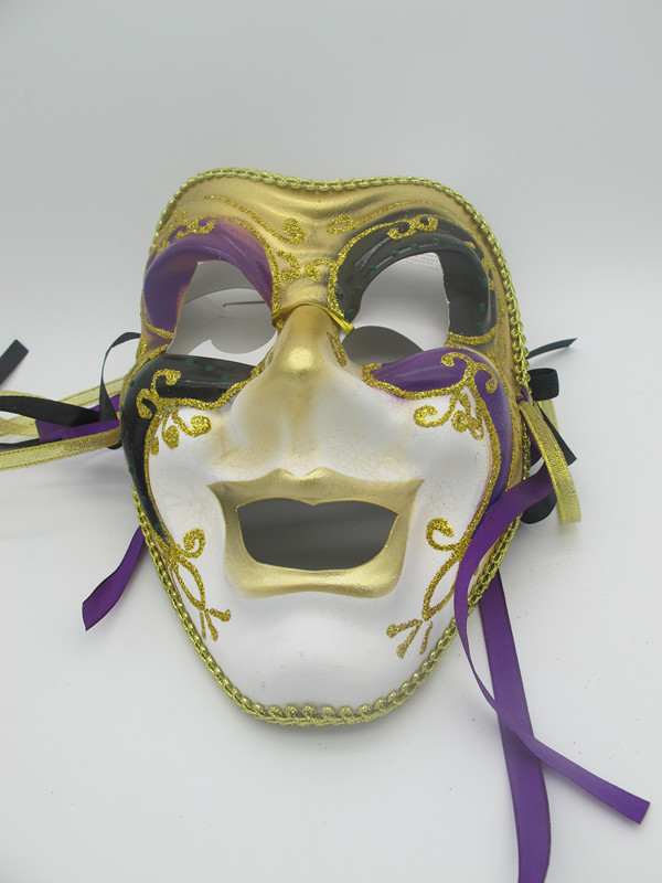 Mardi Gras Wall Mask Deco Madigras Party Swag Wreath Mask
