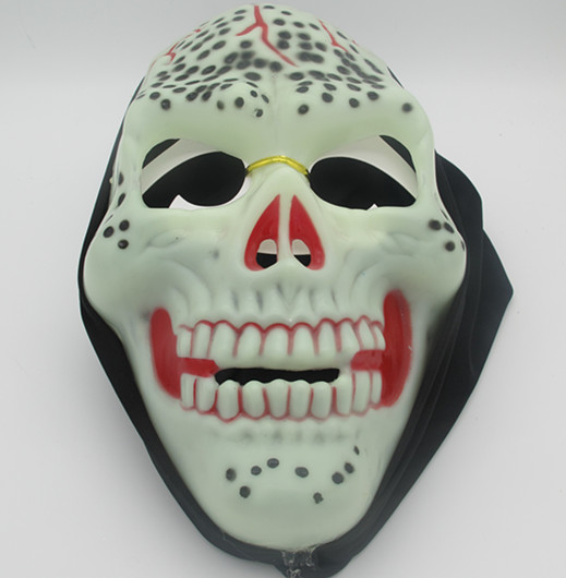 Halloween Skull Mask with Blood Glow In the Dark Mask