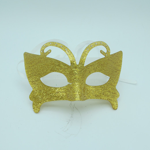 Gold Acylic Masks Butterfly FDL Mask Masquerade Party Ball