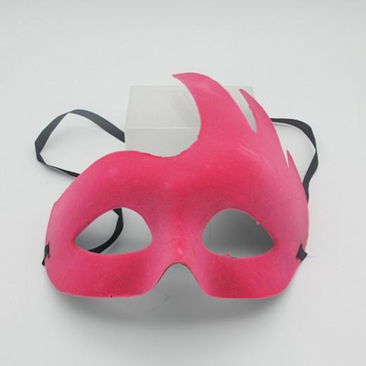 Elegant Party Mask Lint Mask Pink Costume Masks Accessories