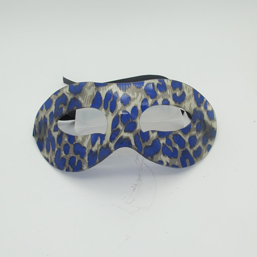 Happy New Year Masquerade Mask Purple Butterfly Acrylic Blue Mask