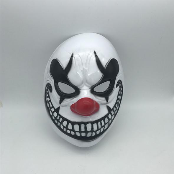 Black Halloween Scary Clown Eye Mask Full Face Eye Mask
