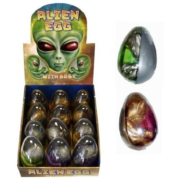 Alien Egg Packaing Sample