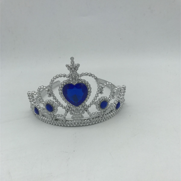 Birthday Party Blue Diamond Plastic Tiara