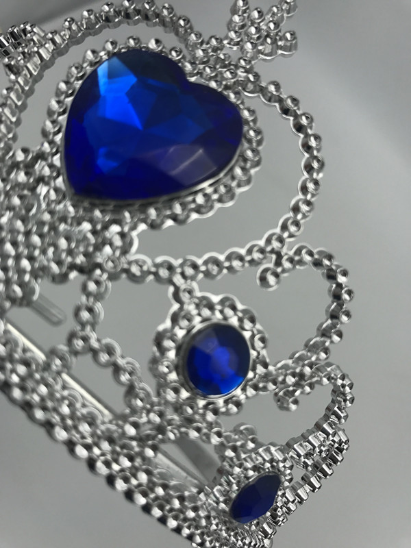 Birthday Party Blue Diamond Plastic Tiara