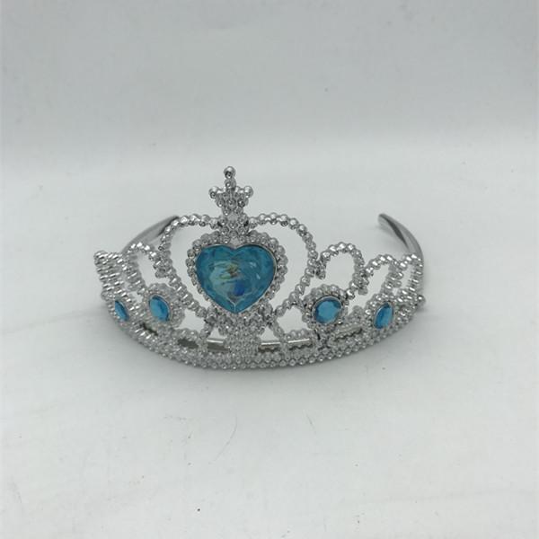 Sliver Plastic Tiara Frozen Princess Tiara Party Accessory