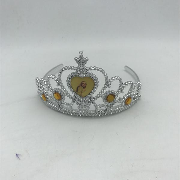 Princess  Tiara Heart-shaped Tiara Crown
