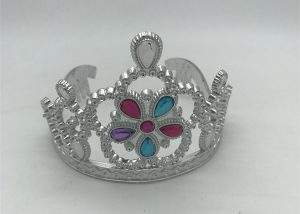 Princess Tiara Flower Girl w Stones Costume Accessories