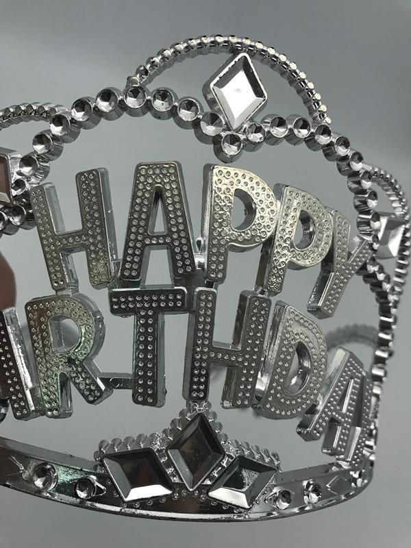 Tiara Girls Happy Birthday Tiara Crown
