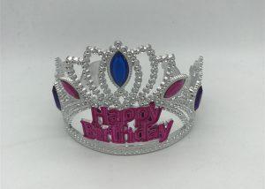 Happy Bithday Day Tiara Crown Girls Tiara For Birthday Party
