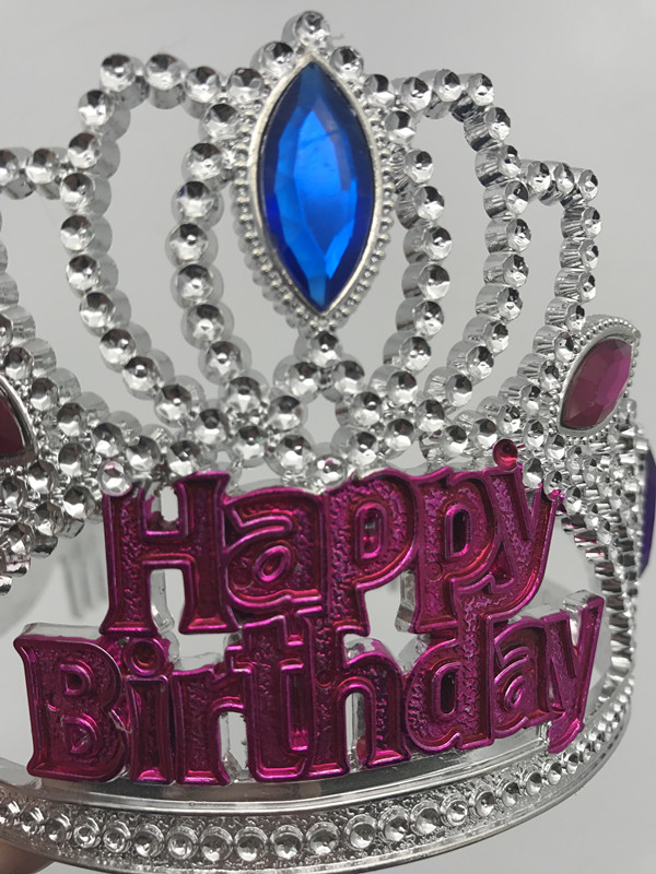 Happy Bithday Day Tiara Crown Girls Tiara For Birthday Party