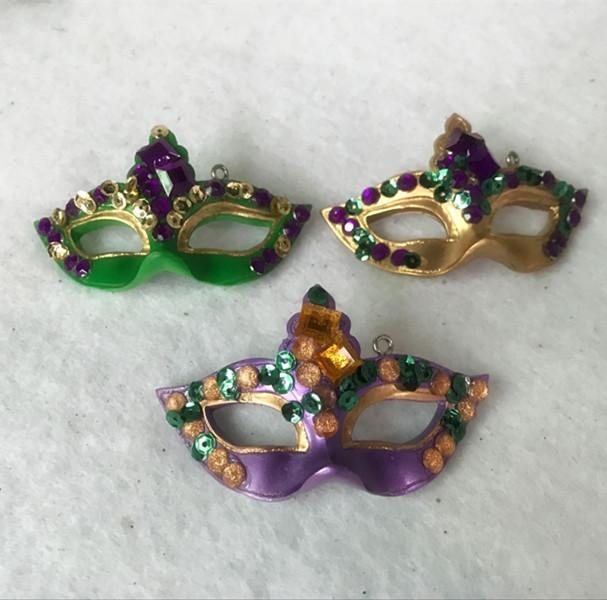 Mardi Gras Mask Tree Ornaments For Mardi Gras Decoration