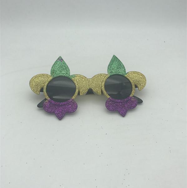 PGG Fleur de Lis Sunglasses Mardi Gras Eye Glasses