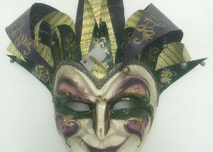 "36"" PGG Giant Jester Mask for Mardi Gras Party Celebration"