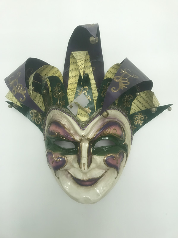 "36"" PGG Giant Jester Mask for Mardi Gras Party Celebration"
