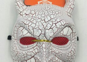 Halloween Masks Devil Mask w Red Veil and Red Eyes