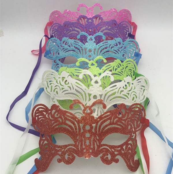 Butterfly Mask Glitter Eye Mask