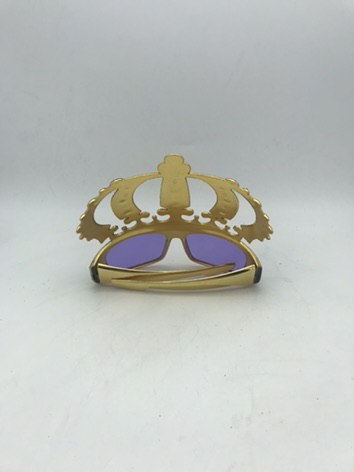 Metallic Mardi Gras Eyeglasses For Mardi Grass