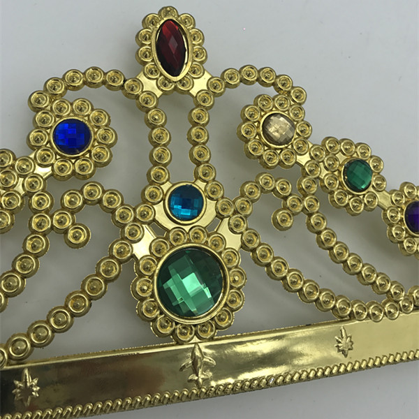 Lego Party Colorful Jeweled Crown Tiara