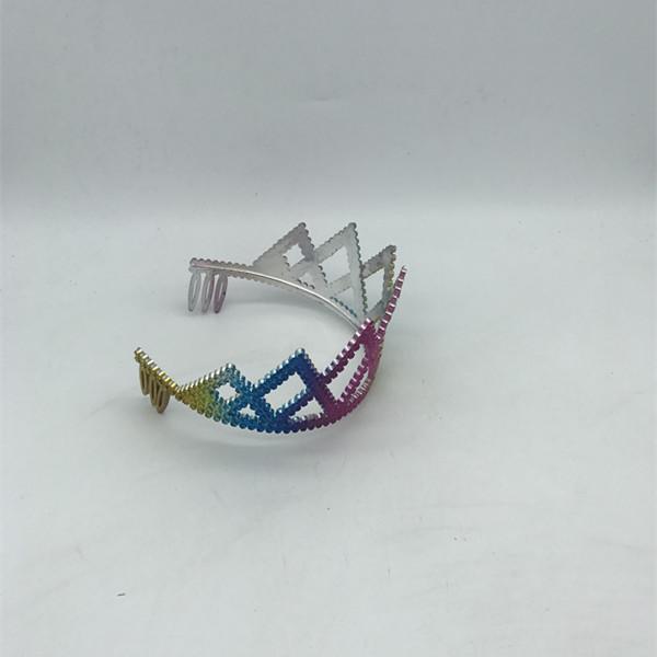 Girls Rainbow Tiara Crown Gay Pride Accessories
