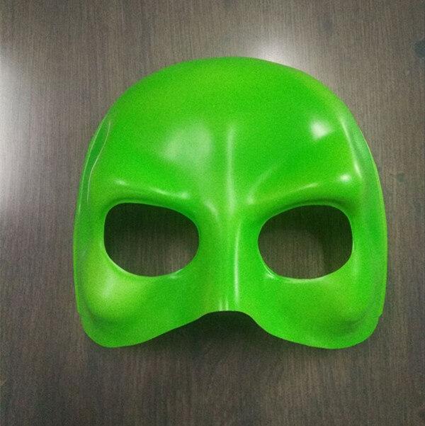 Green Domino Half Face Mask Halloween Maske