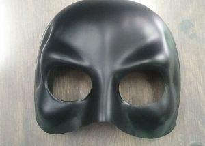 Black Domino Half Face Mask Halloween Maske