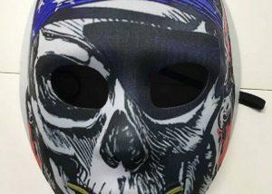 Halloween Maske Piraten Maske