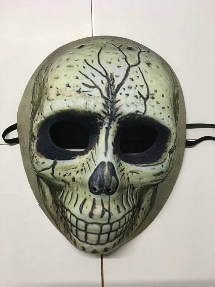 Halloween Maske Smile Skull Mask