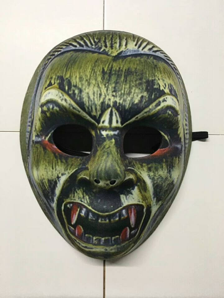 Devil Mask Halloween Maske Skull Mask