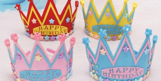 Light Up Happy Birthday Party Star Crown Star Headband