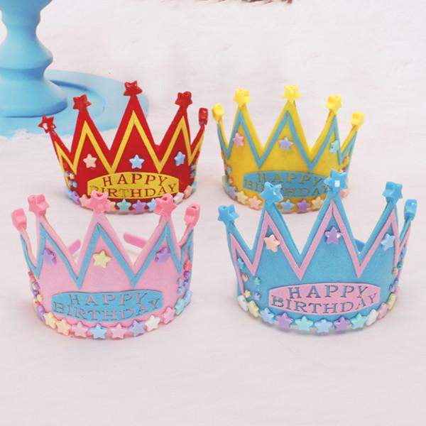 Light Up Happy Birthday Party Star Crown Star Headband