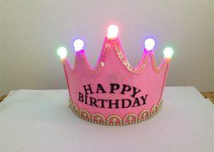 Light Up Birthday Crown Tiara
