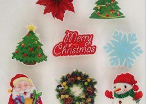 Christmas Snowman Light Up Pin Badge