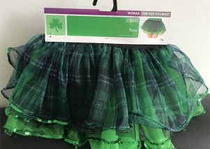 St. Patrick Day Girl Skirt Green Shamrock Toddler Skirts Tutu