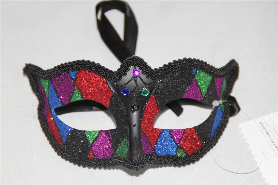 Multi-color glitter eyemask women masquerade mask