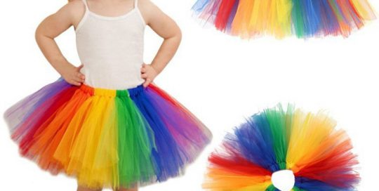 Rainbow Princess Party Ballet Dancewear