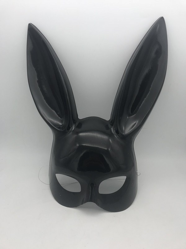 Neu Sexy Pet Mask Ball Masquerade Black Bunny Rabbit Face Mask