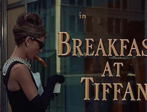 Breakfast at Tiffany's Sleepy Mask