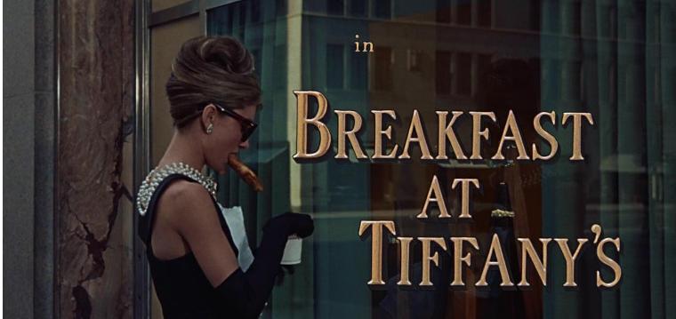 Breakfast at Tiffany's Audrey Hepburn Sleepy Mask